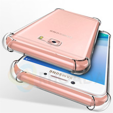 Soft Skin Flexible Bumper Clear TPU Case For Samsung Galaxy C5 Case Transparent Soft Coque For Samsung C5 Back Cover