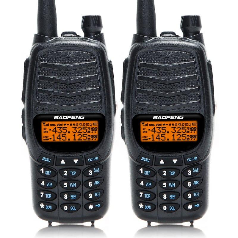2Pcs Baofeng UV X9 Plus Powerful Walkie Talkie Triple 10W 4W 1W High Power Dual PTT
