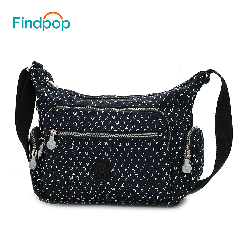 Findpop 2018 Vintage Women Shoulder Bags Waterproof Large Capacity Canvas Shoulder Bags Fashion Casual Crossbody Bags For Women original ethnic embroidered women handbag vintage handmade tassel shoulder bags black canvas casual large bags