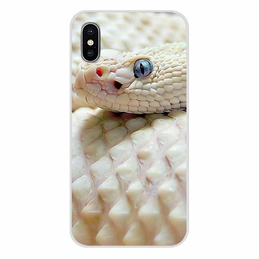 Модный чехол для телефона, розовый кожаный Змеиный чехол, зеленые весы для Apple iPhone X, XR, XS, MAX, 4 искусственных пятен, 5C, SE, 6, 6S, 7, 8 Plus, ipod touch 5, 6