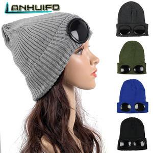 7b0af6dc104 LANHUIFD Female Hip Hop Knitted Men Winter Hat Women s Girl
