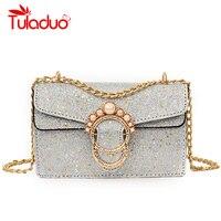 Luxury Handbag Women Bags Mini Ladies Bag High Quality Evening Chain Shoulder Bag Designer Shiny Purse