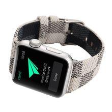 100% Genuine Leather watchbands for iwatch bracelet 42mm 38mm