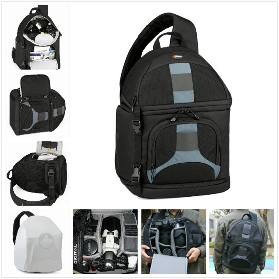 Lowepro SlingShot 300 AW SS300 Photo font b Camera b font Sling Shoulder Bag DSLR Digital