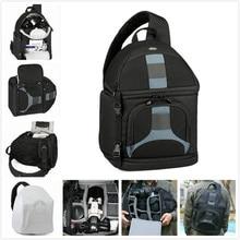 Ss300 lowepro slingshot 300 aw cámara fotográfica sling bolso de hombro dslr digital slr mochila + all weather cover para nikon canon