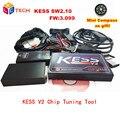2016 Altamente Recomendado V2.10 KESS V2 OBD2 Gerente Sintonia Kit FW3.099 NoTokens V2.10 Kess V2 Mestre versão limitada