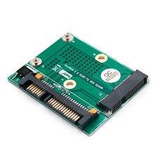 Converter-Card Computer-Components Msata Half-Mini-Card Extension-Bracket Metal SSD To