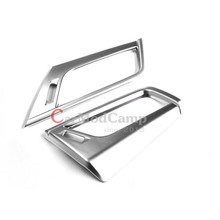 Inner ABS Chrome Side Air AC Vent Frame Cover Trim 2pcs For BMW 2 Series F45