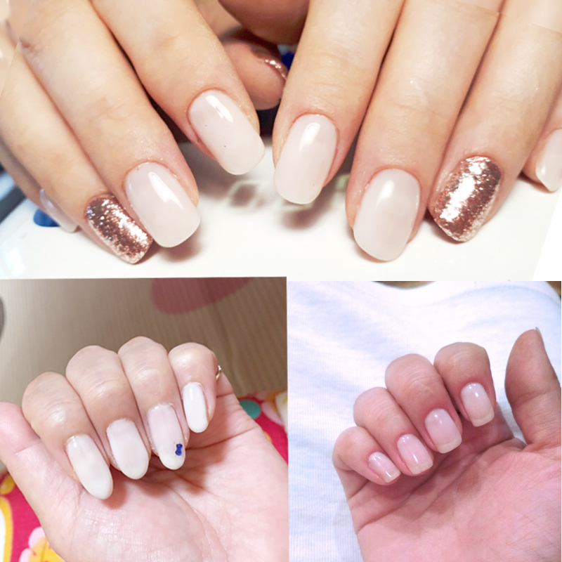 ROSALIND Brand 12 Colors Easy to Wear Transparent Jelly Nail Gel ...