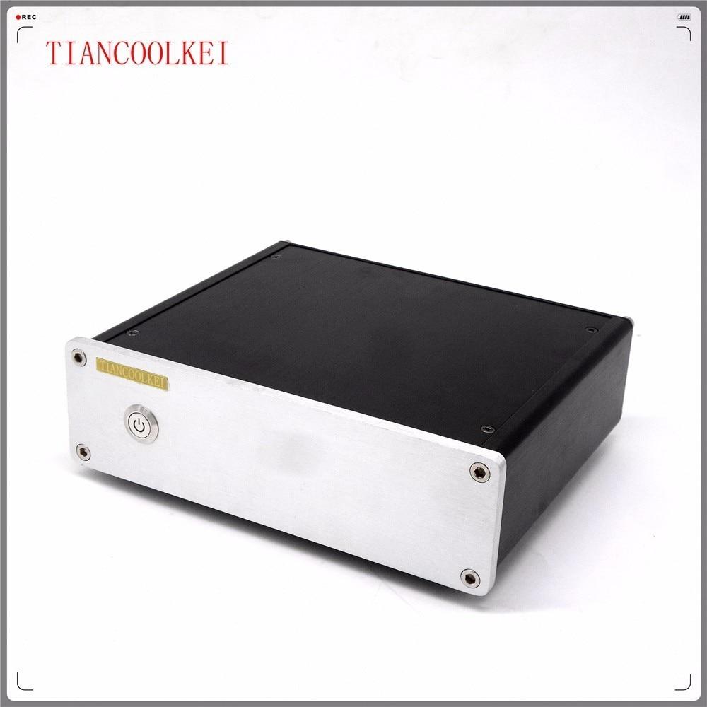 TIANCOOLKEI CS4398 24Bit 192 кГц USB аудио декодер поддерживает волокна или коаксиальный профессиональный усилитель ПК HiFi ЦАП
