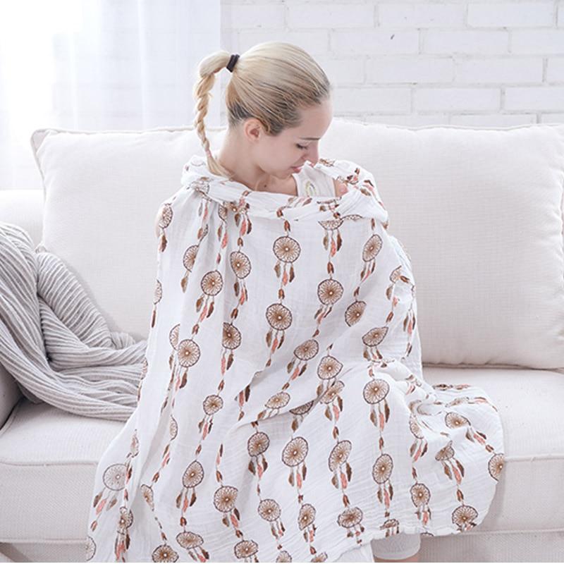 Travel Towel Bamboo: Hot Sell Muslin Baby Blanket Bamboo Fiber Newborn Bath