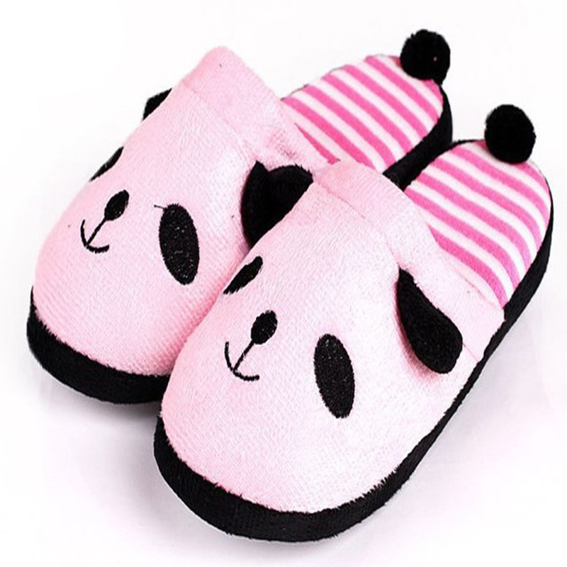 Casual Fashion Womens Slippers Cartoon Panda Indoor Soft Bottom Womens Cotton Slippers Home Shoes Women Chaussures FemmeCasual Fashion Womens Slippers Cartoon Panda Indoor Soft Bottom Womens Cotton Slippers Home Shoes Women Chaussures Femme