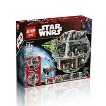 Free Shipping Preventa  Star Wars Death Star II Kits de Edificio Modelo Bloques Minifigure Ladrillos Juguetes 3803 Unids