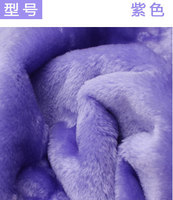 2 # violet 8mm Minky polaire en peluche tissu velboa pour BRICOLAGE à coudre En Peluche jouets matériel Polyester Plaine PV velours