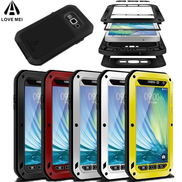 9f0d2a96571 Gorilla Glass potente funda impermeable para iphone XS Max XR X funda de teléfono  para iphone 6 6s 7 8 Plus Metal aluminio anti A caso en Fundas calcetín ...