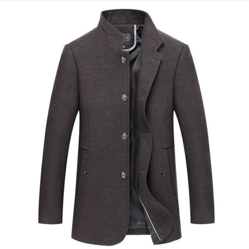 Online Shop 2017 New Arrival Men's Woolen Jacket Mens Cold Winter ...