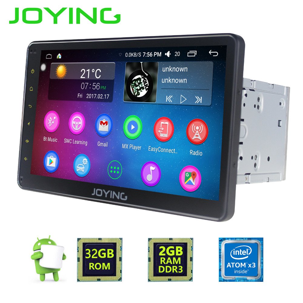 Latest 2GB RAM Android 6 0 Universal 10 1inch touch screen Car Radio Auto Audio Stereo