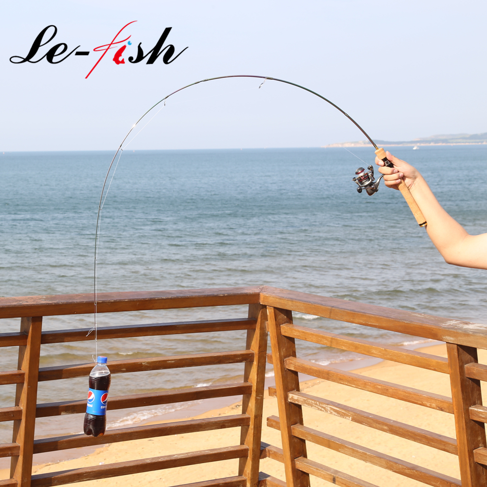 LeFish UL fishing rod 1.8m 1-5g lure weight ultralight spinning/Casting rod 2-4LB line High Carbon Rod fishing rod For Trout каталог ander