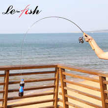 LeFish UL fishing rod 1.8m 1-5g lure weight ultralight spinning/Casting rod 2-4LB line High Carbon Rod fishing rod For Trout недорого