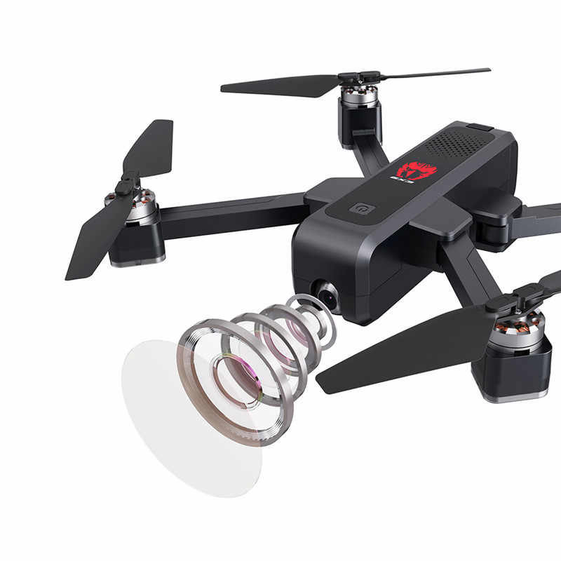 Eachine EX3 GPS 5G WiFi FPV con cámara 2K flujo óptico OLED interruptor remoto sin escobillas plegable RC Drone quadcopter RTF