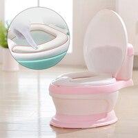 Baby Potty Toilet Training Seat Portable Plastic Child Potty Trainer Kids Indoor WC Baby Potty Chair Plastic Children's Pot