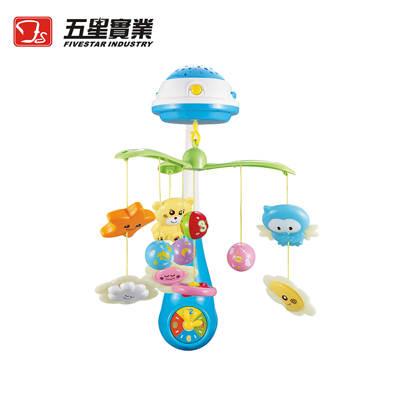 FS TOYS 1 SET 35604 Stars Projection Musical Mobile baby mobile toys for baby hanging toys rattle music infant toy givenchy khol couture waterproof карандаш для глаз водостойкий 01 черный