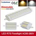 Dimmable R7S LED 118mm 78mm J118 J78 J189 LED R7S 5730 LED Flood Light Corn Bulbs Lamp Replace Halogen Free Shipping
