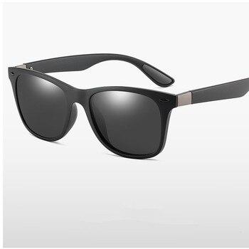 ZXWLYXGX Classic Polarized Sunglasses Men Women Brand Design Driving Square Frame Sun Glasses Male Goggle UV400 Gafas De Sol 2