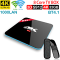 Xinways H96 Pro TV Box Amlogic S912 3 GB 32 GB Octa Core Android 7.1 OS BT 4 1 2 4 GHz + 5 0 GHz WiFi Media Player Smart tv box|Digitalempfänger|   -