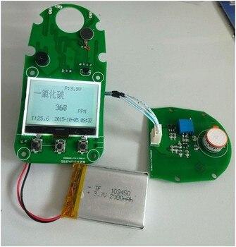 Solid electrolyte carbon dioxide sensor CO2-D1, low power consumption, portable. Platform.