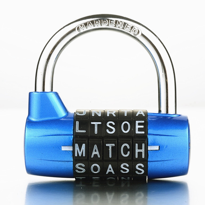 5 Letter Code Combination Suitcase password lock Bicycle lock