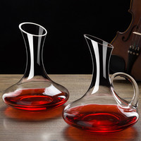 Big Decanter Lead free Crystal Glass Decanters with Handle for Red Wine Hotel Home European Cocktail Shaker Home Bars Tools