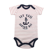 Baby Bodysuit Infant Jumpsuit Overall Short Sleeve Body Suit Set 100%Cotton Summer Baby Clothing