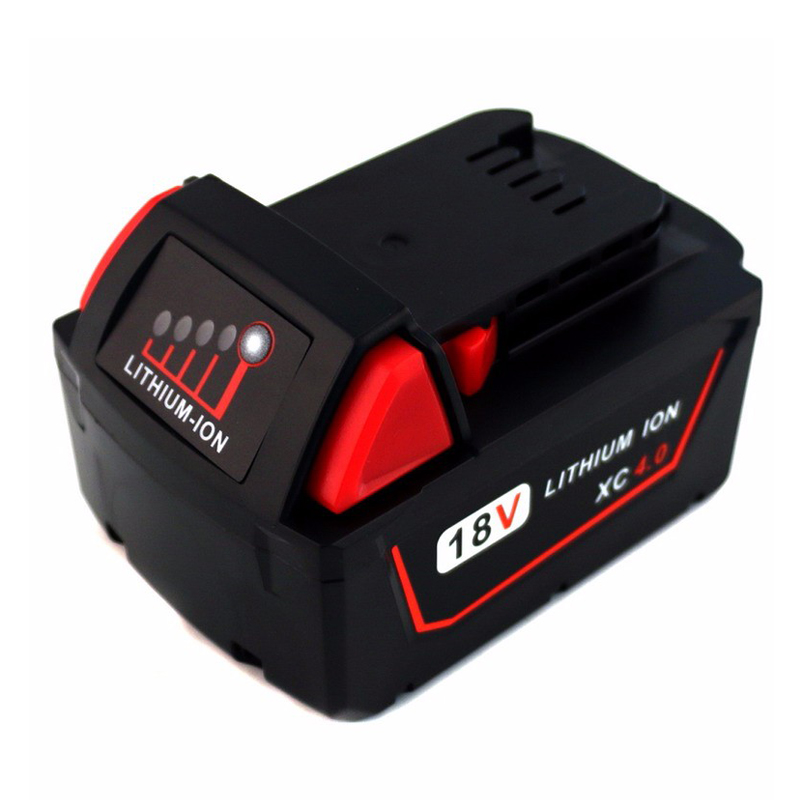 Cncncool 18V Tool Battery Lithium High Demand 4.0Ah Rechargeable Battery For Milwaukee 48-11-1890 M18 Replacement Tool BatteryCncncool 18V Tool Battery Lithium High Demand 4.0Ah Rechargeable Battery For Milwaukee 48-11-1890 M18 Replacement Tool Battery