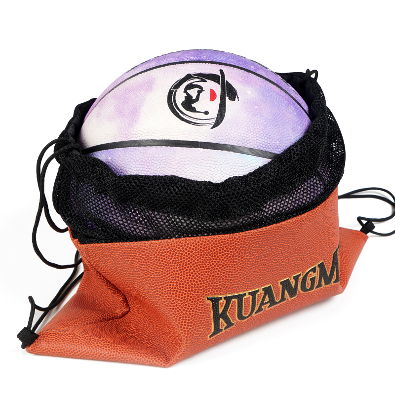 Fashion Style Kuangmi Basketball Storage Bag Sport Ball Bag Football Volleyball Backpack Handbag Round Shape Adjustable Shoulder Strap Catalogues Will Be Sent Upon Request