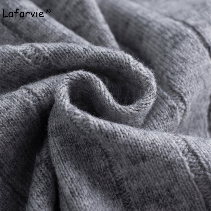 Lafarvie Wool Blended Knitted Short Cardigan Sweater Women V neck Single Breasted Slim Fashion Cardigans 4 Colors S XL Pull Soft in Cardigans from Women 39 s Clothing