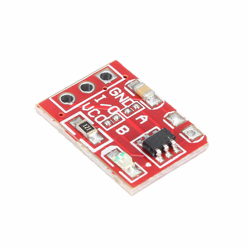 5 pièces TTP223 Tactile Capacitif bouton de commutation Autobloquant Module Clé Pour Arduino l8 Meilleur Prix