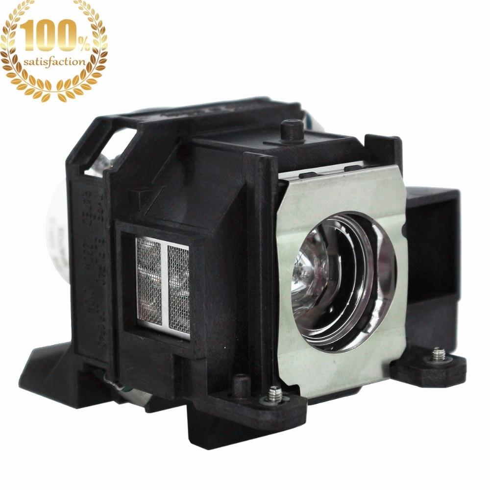 WoProlight ELPLP40 / V13H010L40 Lampe de rechange avec boîtier pour - Accueil audio et vidéo - Photo 2
