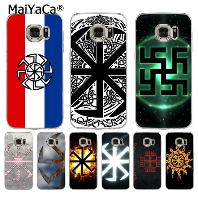 Maiyaca Slavic Symbol Kolovrat Coque Shell Phone Case For Samsung S5