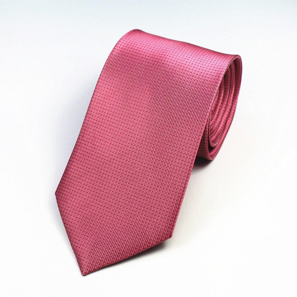 Herren Anzüge Krawatte Polyester Silk Krawatten Striped Dots für Herren Anzug Geschäfts Klassische Krawatte