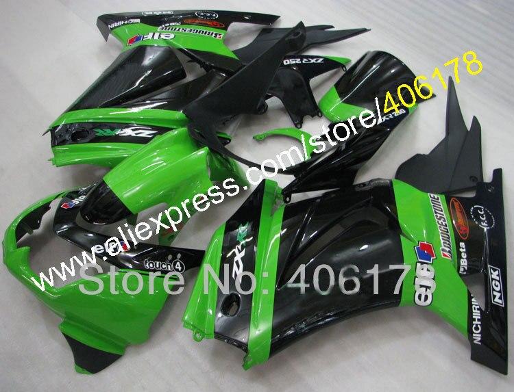 ᐃVentas calientes, personalizado EX250 carenado para Kawasaki ...