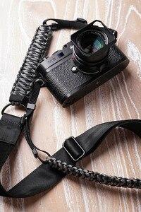 Image 3 - Mr.stone اليدوية جلد طبيعي شريط كاميرا كاميرا الكتف حزام حبل المظلة الحبل الحياكة (حزام الكتف قابل للتعديل)