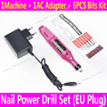 Nail Power Drill Set 6bits Professional Electric Drills Manicure Styling Tool Pedicure SWO Filing Shaping Tool Feet Care Product