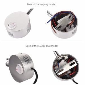 Горячие 3 Вт светодиодные настенные лампы детская лампа для чтения прикроватное освещение AC90-260V Алюминий 360 градусов вращающийся + переключатель и ЕС US Plug