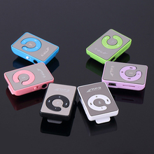 Portable Clip Type Mini MP3 Player waterproof sport mp3 music player walkman lettore цена 2017