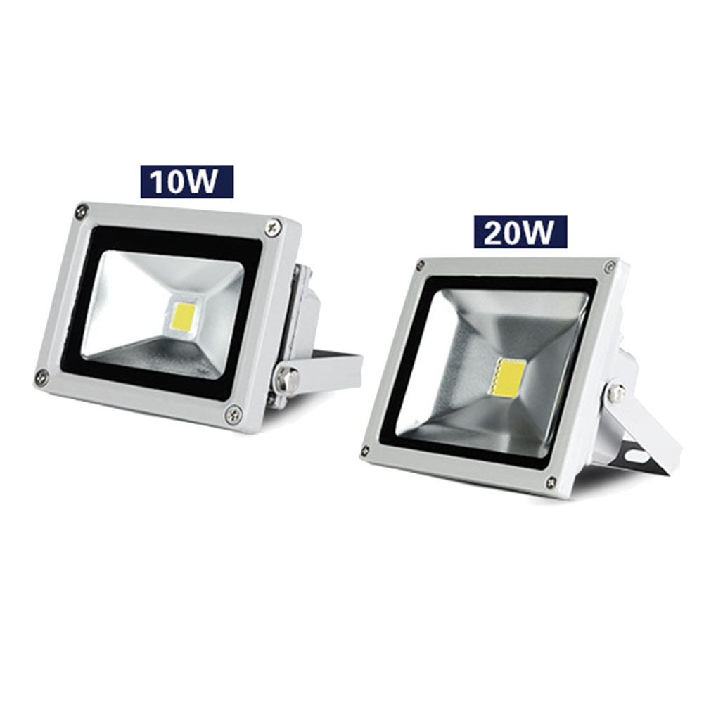 Newest Floodlight IP65 Waterproof Led Flood Light Exterior Spotlight Security Light Projector Lamp for Outdoor Warm White