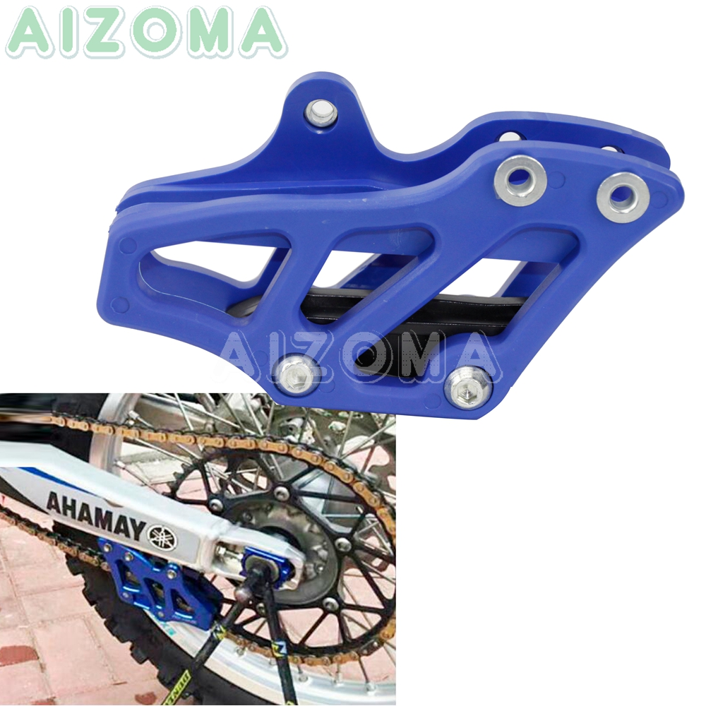 Blue Motocross Chain Guide Guard <font><b>Protector</b></font> for <font><b>Yamaha</b></font> YZ <font><b>WR</b></font> 125 <font><b>250</b></font> 250F 450F 250FX 450FX 2007-2019 WR250F WR450F 2015-2019 image