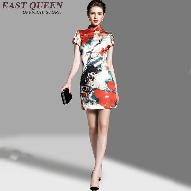 c820cf95ce Cheongsam qipao Chiński orienal sukienka Chiny kobiet tradycyjny Chiński  odzież dla kobiet qi pao sexy chiński