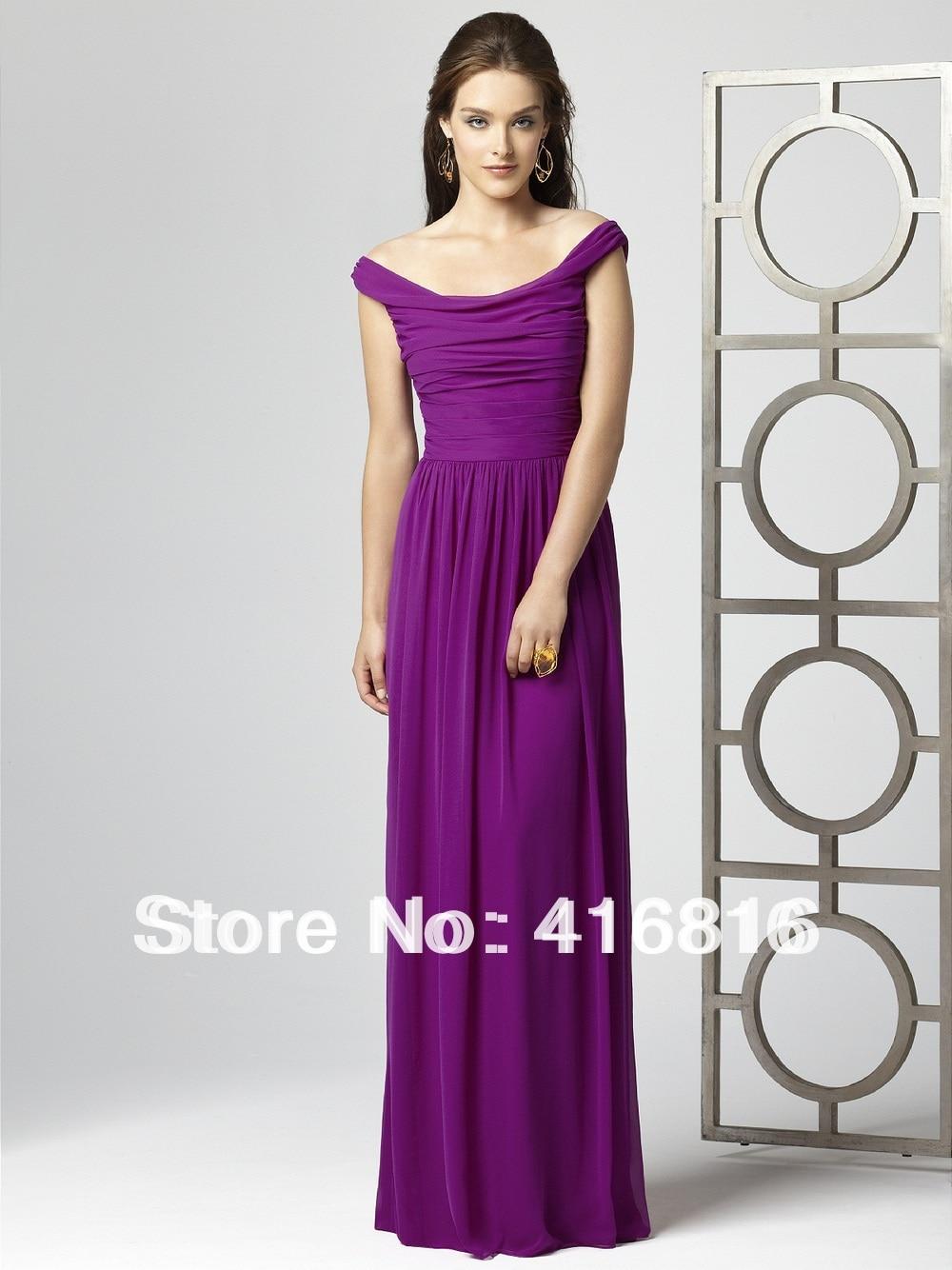 Popular Purple Violet Bridesmaid Dresses-Buy Cheap Purple Violet ...