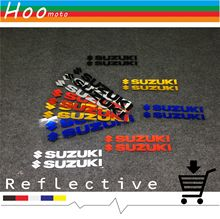 Reflective stickers car styling motorcycle stickers and decals For SUZUKI GSXR 600 750 1000 K1 K2